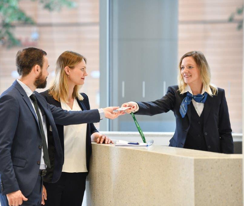 Gegenbauer Sicherheitsdienste mit neuem Angebot für digitales Besucher- und Empfangsmanagement
